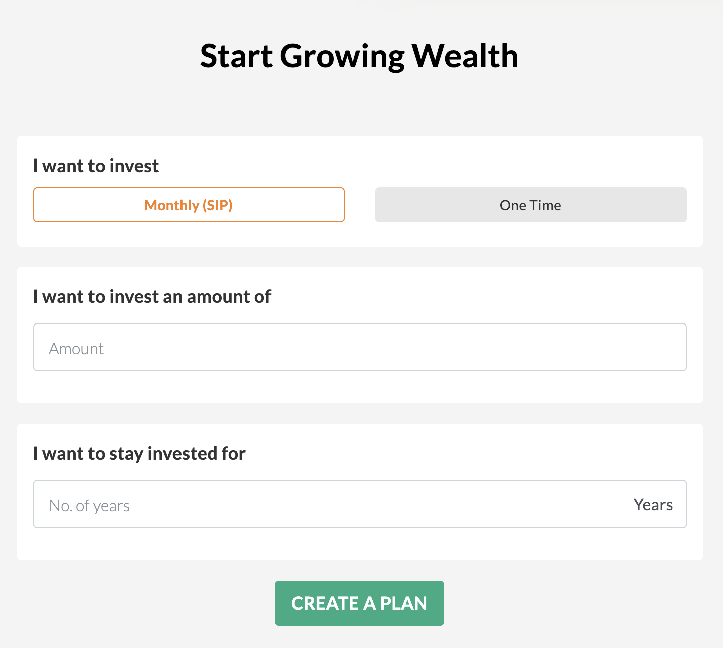 start growing wealth