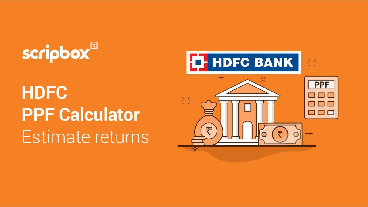 PPF Calculator HDFC
