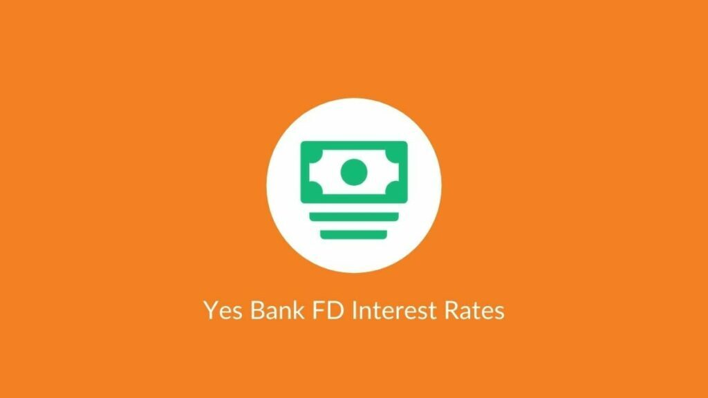 yes bank fd rates